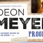 Prooi: weer een heerlijke thriller van Deon Meyer
