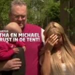 Samantha en Michael willen rust in de tent: aflevering 1 – De eerste voorbereidingen
