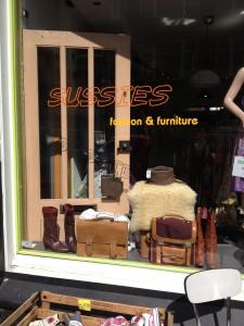 Vintage winkel in de Voorstraat, Utrecht