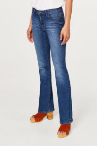 bootcut stretchjeans 1