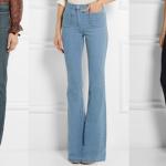 De terugkeer van de flared jeans in 2015