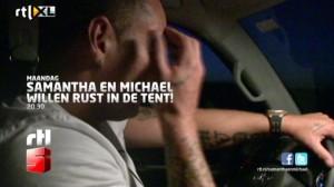 mike in de auto
