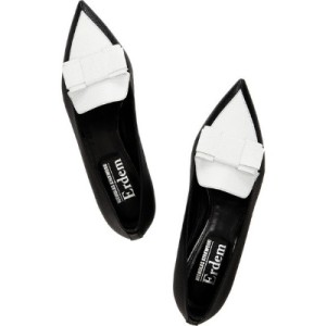 nicholas-kirkwood-erdem-two-tone-leather-point-toe-flats